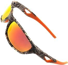 4876f8f209 MOTELAN Polarized Outdoor Sports Sunglasses Tr90 Camo Frame for Men Women Driving  Fishing Hunting Reduce Glare
