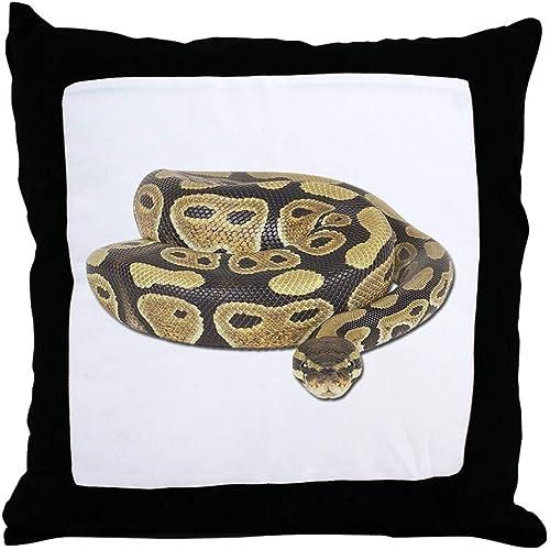 CafePress-Ball Python Photo-Throw Pillow