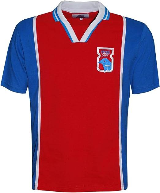 Camisa Paraná Clube 1997 Liga Retrô Vermelho e Azul