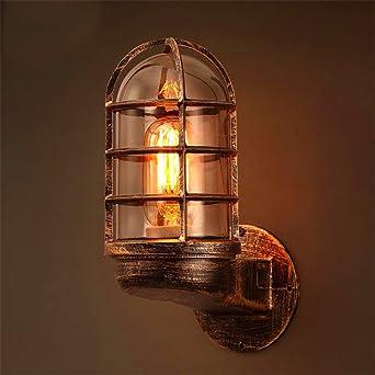 Anbiratlesn E27 Vintage Wandlampe für Schlafzimmer Wohnzimmer ...