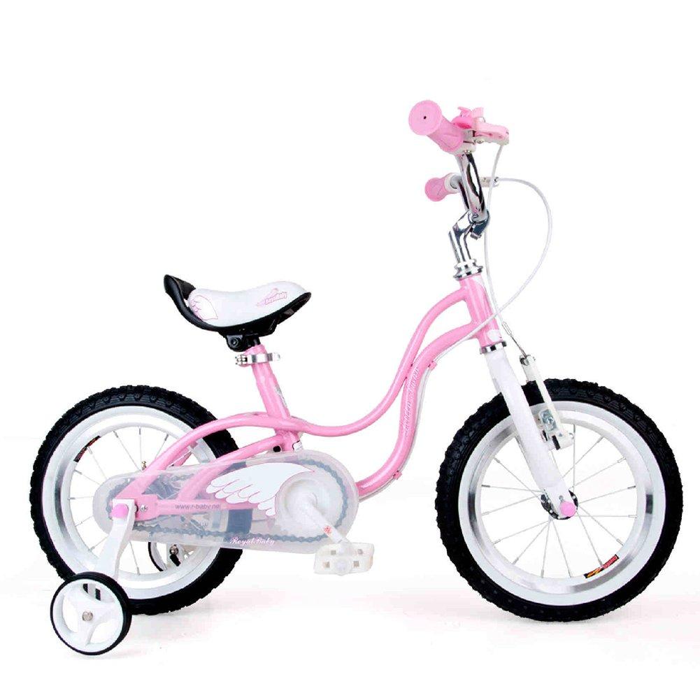 XQ TR 434ピンクの子供の自転車子供の自転車3-8歳の女の子は安定した安全14インチ、84 * 18 * 50センチメートル乗って 子ども用自転車 B07C5PVGWB