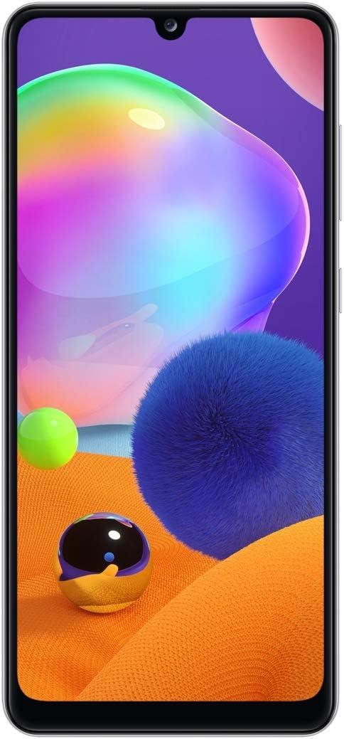 Samsung Galaxy A31 64GB / 4GB - A315G/DSL Unlocked Dual Sim Phone w/Quad Camera 48MP+8MP+5MP+5MP GSM International Version (Prism Crush White)