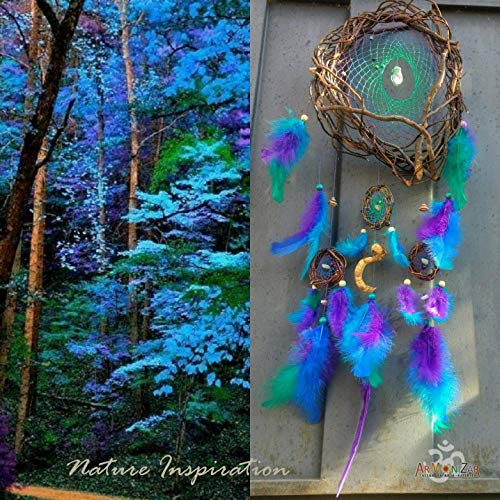 Dream Catcher, Catch Natural Dreams with Semiprecious Stones Inspired by Nature ()
