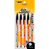 ビック 油性ボールペン オレンジ 0.7 黒 5本 OR07BLK5P