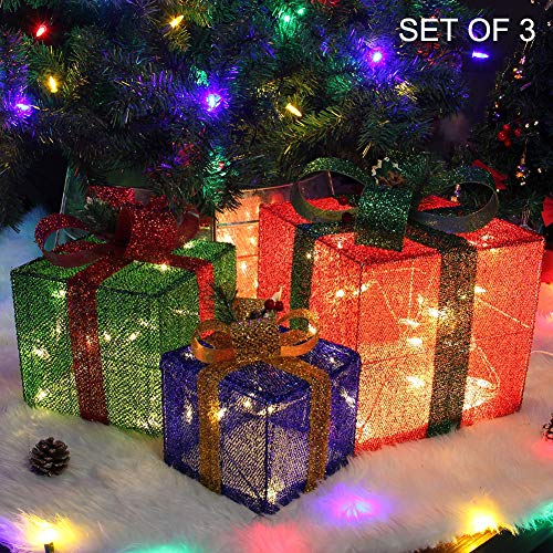 Light Up Christmas Ornaments Outdoor