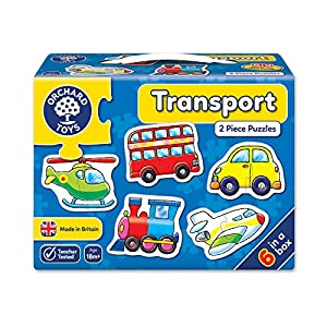 Orchard Toys Transport Jigsaw ...