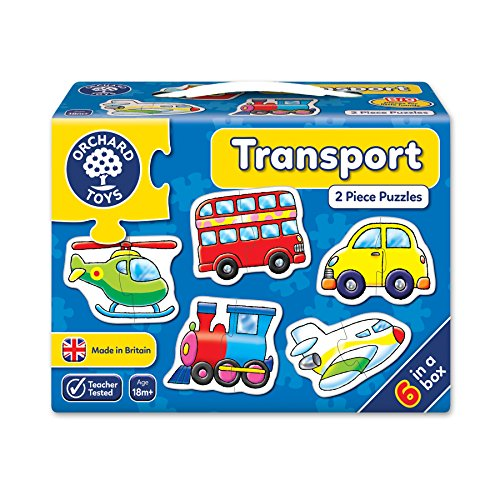 Orchard Toys Transport 2-Piece - Large Piece 6