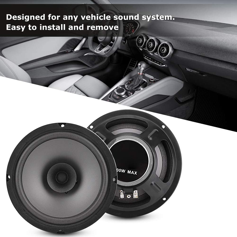 6 pulgadas 500 W Altavoces est/éreo de audio para autom/óvil Altavoces coaxiales de audio para autom/óvil Altavoz auto para autom/óvil Accesorio de altavoz