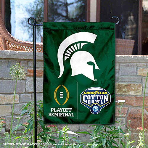 - MSU Spartans 2015 Football Playoff Yard Flag and Garden Flag