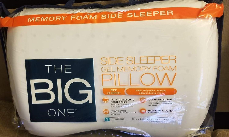 Amazon Com The Big One Gel Memory Foam Side Sleeper Pillow