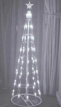 Stunning Modern White Led Christmas Tree Amazoncouk Lighting