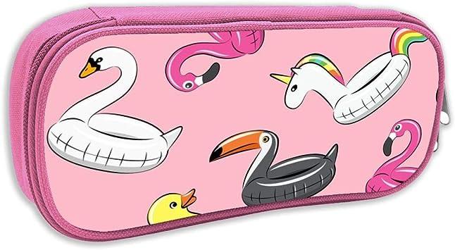 Estuche de lápices Infantil,Flotadores para Piscinas - Todos los flotadores en Pink_5622 - littlearrowdesign, pingk: Amazon.es: Juguetes y juegos
