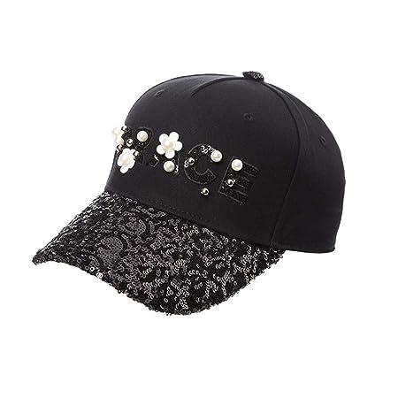 3411a71ff05 JIU Caps Hats Duck tongue cap Casual Women s Sun protection cap outdoor  Holiday Wide-brimmed