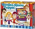 4M Wooden Spoon Puppet Theatre Kit