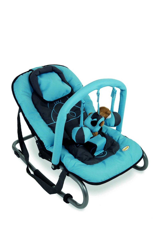 Baninni Relax Classic bn298 Babywippe Nilpferd blau K79WJ 38780562