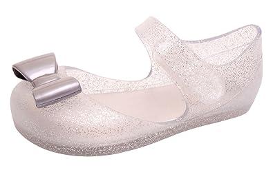 1b0966c81f8a Igor S10167 Mia Lazo Girls Jelly Sandal Silver Glitter 20 M EU 4 US Toddler