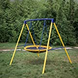 Best frame swing set - Kinbor Spider UFO Swing Web Swing For Kids Review