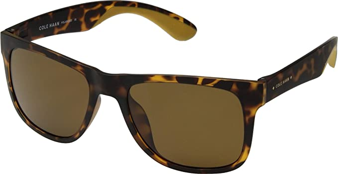 45fd21fd3a90d Amazon.com  Cole Haan Men s CH6049 - Polarized Matte Dark Tortoise ...