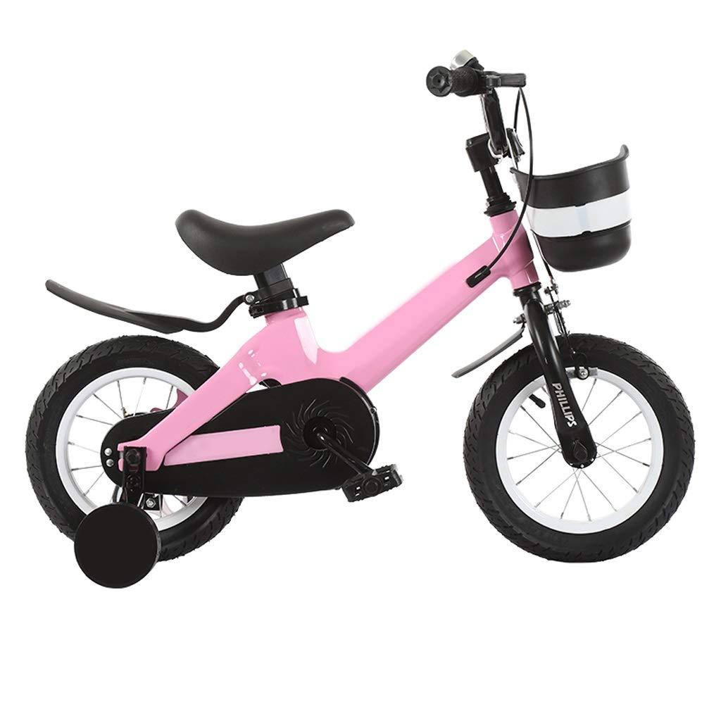 子供の自転車の男の子の女の子補助車輪が付いている2-3-4-6-7歳の自転車 14in 2 B07R1X36WS