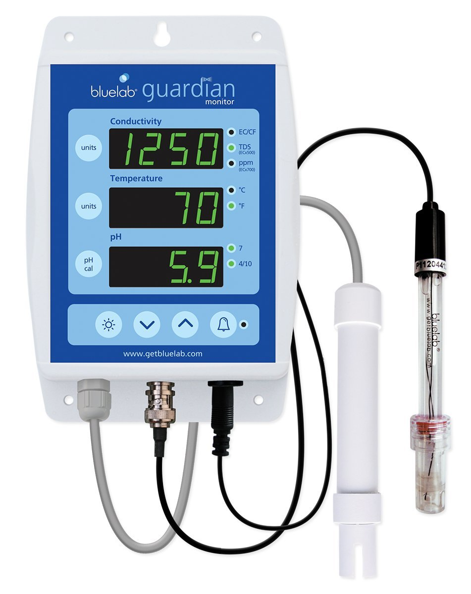 Guardian Continuo Monitor Ph/Ec/Temperatura