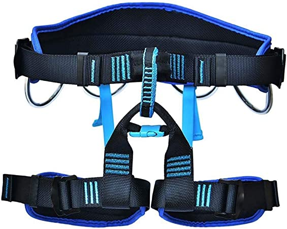 Outdoor Mountain Downhill Climbing Belt Safety Tool Equipment Harness Seat Belts