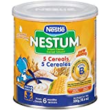 Nestum Probiotics Infant 5 Cereals, 10.6 Ounce - 12 per case.