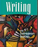 Writing with Contemporary Readings, Baker, Barbara A. and Baker, Catherine, 0763802093