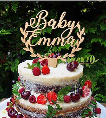 Amazon Baby Cake Topper Baby Girl Name Cake Topper Baby