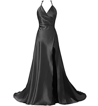 Aiyi Womens Off Shoulder High Low Prom Dress Short Sleeve Cocktail Dress Black US2