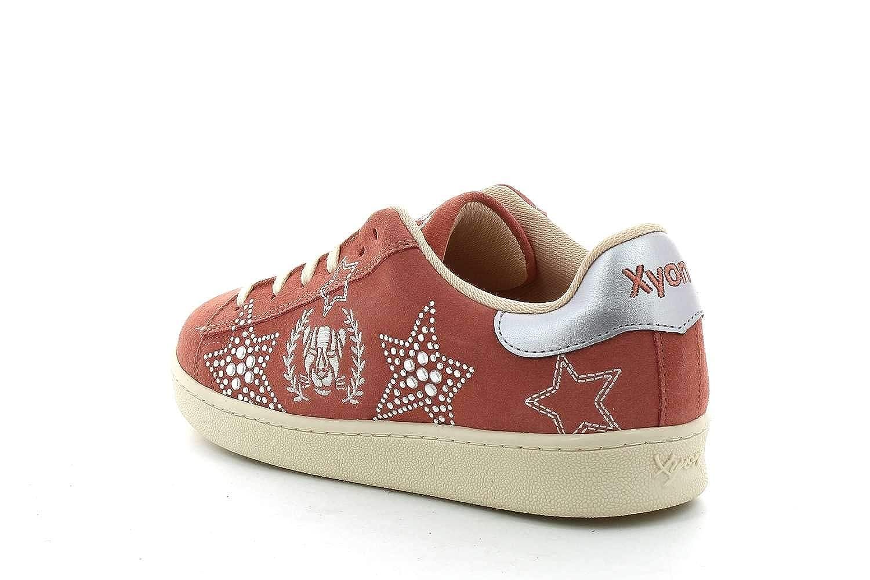 Xyon Revolution PINKSTAR Sneakers Zapatilla Deportiva con Cordones Mujer: Amazon.es: Zapatos y complementos