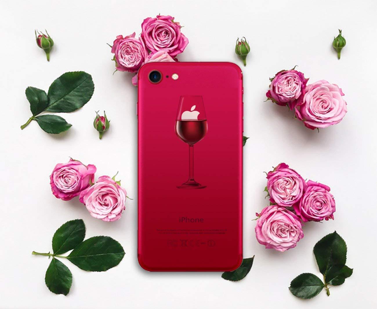 Caler iPhone 7 Trasparente Ultra Slim Custodia iPhone 8