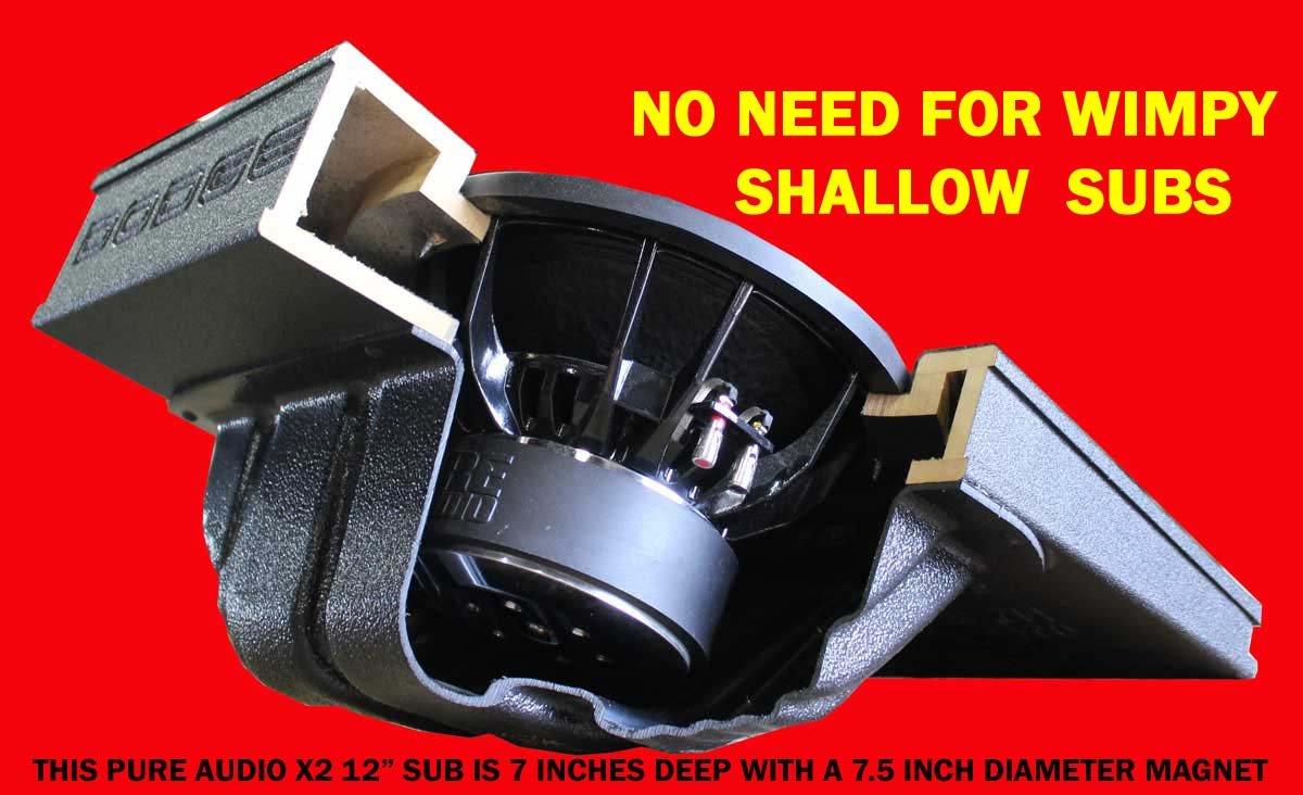 Fox Acoustics Dodge Ram Quad And Crew Cab Dual 12 Vented 5 7 Hemi Wiring Harnesses Sub Speaker Box 2002 To 2017 Cell Phones Accessories