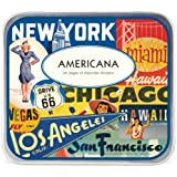 Cavallini Decorative Stickers Americana, Assorted