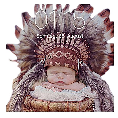 [K01 For 0 to 9 months Baby / Newborn : Brown Headdress for the little ones !] (Greatest Halloween Costumes Ever)