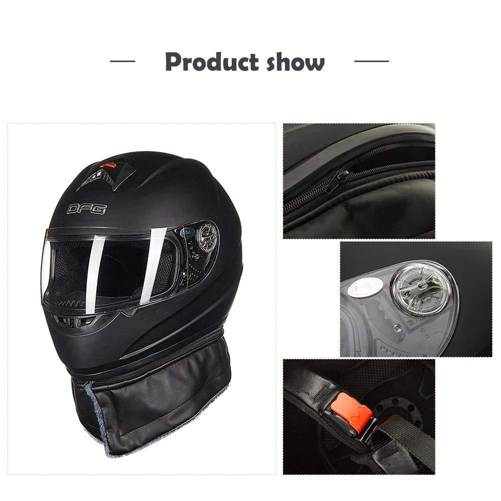 Casco de motocicleta de cobertura completa, antivaho, transpirable, cuatro estaciones, para hombres y mujeres, motocross, ciclismo, etc.: Amazon.es: Hogar