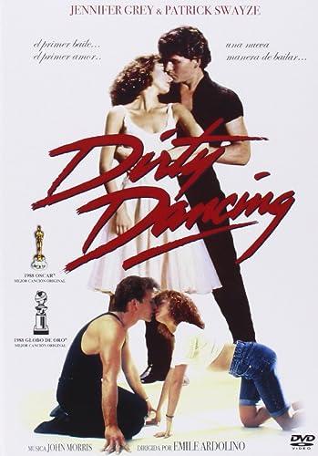 Dirty Dancing - carátula de la película con Patick Swayze y Jennifer Grey