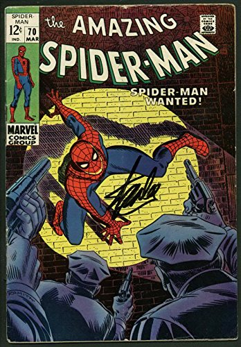 Stan Lee Signed Amazing Spider-Man #70 Comic Book Kingpin PSA/DNA #W18642