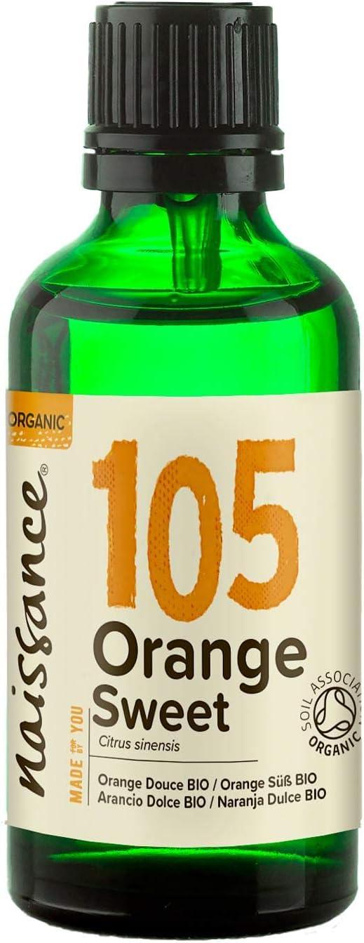 Naissance Naranja Dulce BIO - Aceite Esencial 100% Puro - Certificado Ecológico - 50ml