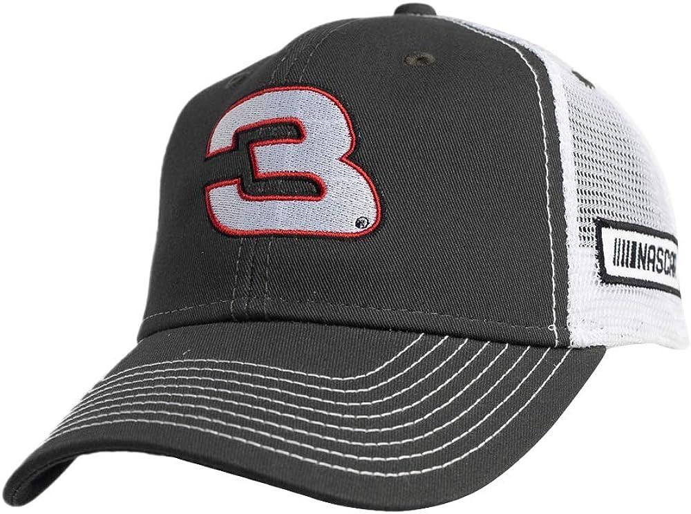 Ouray Sportswear NASCAR Richard Childress Racing Austin Dillon Mens Sideline CapSideline Cap Dark Grey//White Adjustable