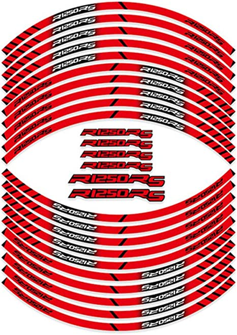 Psler Motorrad Felgenrandaufkleber Rim Stripes Aufkleber Für R1250rs Auto