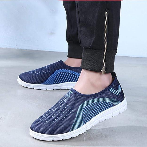 Sportliche Slip On Sportschuhe für Herren Sneaker 39 44