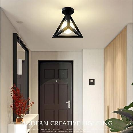 Nclon Downlight Simple,Downlight Lámpara de pasillo Fluorescente Iluminación interior Pasillo Moderno Led Sala de estar Dormitorio Corredor-negro B: Amazon.es: Iluminación