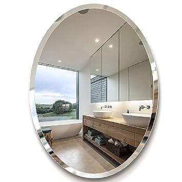 Bevorzugt Badezimmer Spiegel - WC Spiegel Oval Badezimmer Dressing VN69