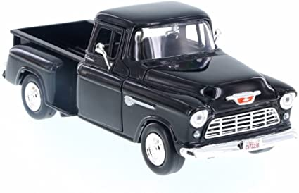 Motormax 1:43 Scale Diecast 1955 Chevy Bel Air 1955 Chevy 5100 Stepside Pickup