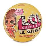 Giochi Preziosi LOL Surprise LIL Sister Serie 3 Sfera con Mini Doll a Sorpresa, 5 Livelli, Modelli Assortiti, 1 Pezzo