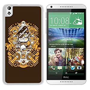 Beautiful And Unique Designed Case For HTC Desire 816 With Adidas 16 White Phone Case