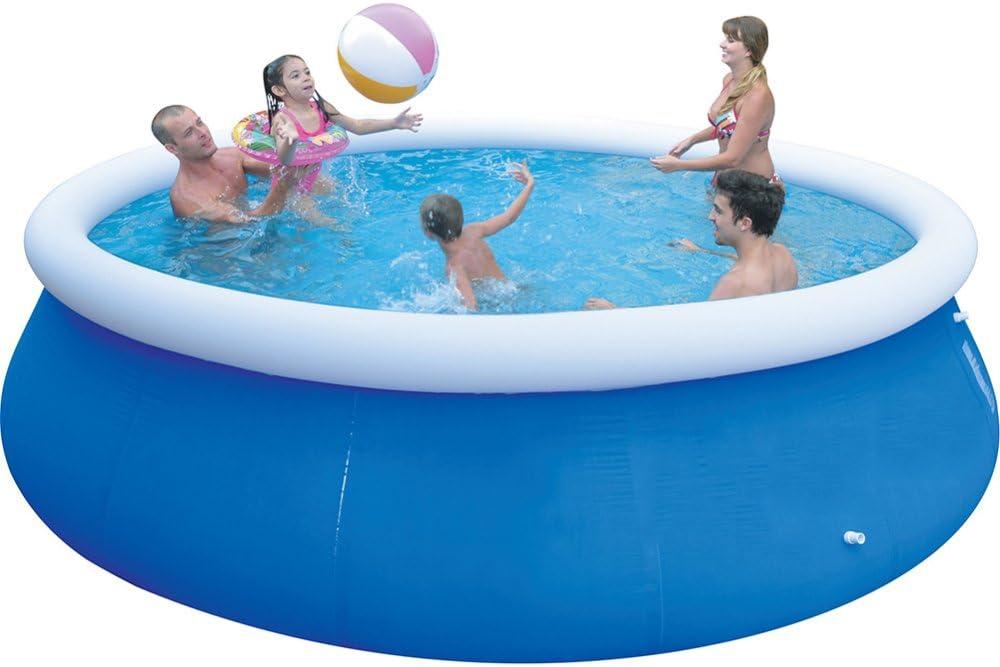 FAFY Fast Set Pools Summer Diversión Al Aire Libre Round Paddling Pool Swim Pool para Niños,240 * 76CM