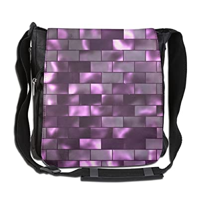 Abstract Background 1 Custom Unisex Polyester Fiber Messenger Bag Cross-Body Bag Daypack Bag