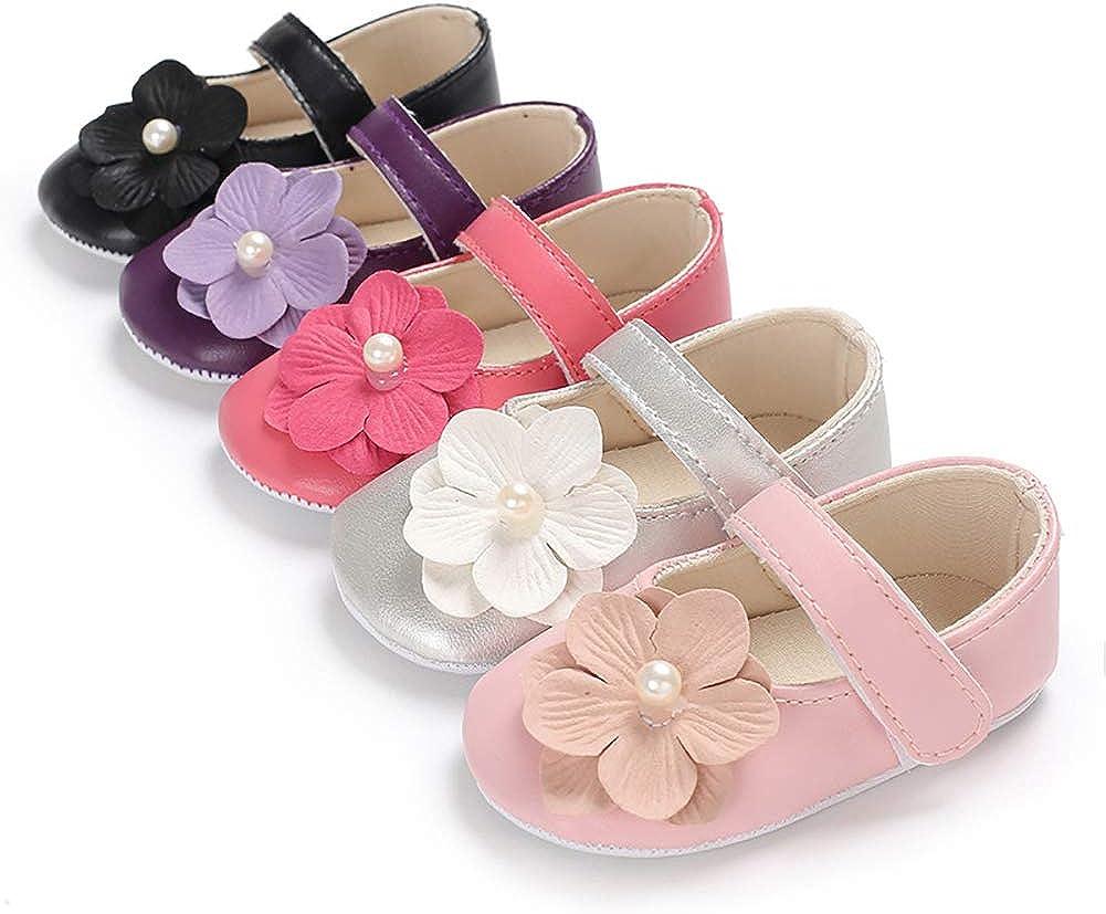 quyysvnvqt Flower Baby Shoes Flower Baby Shoes Cute Baby Girls Infants Autumn Flower Shoes Prewalker Footwear First Walker