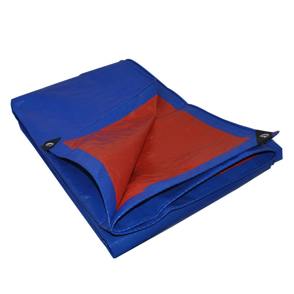 JIANFEI オーニング 防水耐寒性日焼け止め防塵耐摩耗性長寿命ポリエチレンカスタム化することができます (色 : Blue, サイズ さいず : 3.8x4.8m) B07FYH57TK 3.8x4.8m|Blue Blue 3.8x4.8m